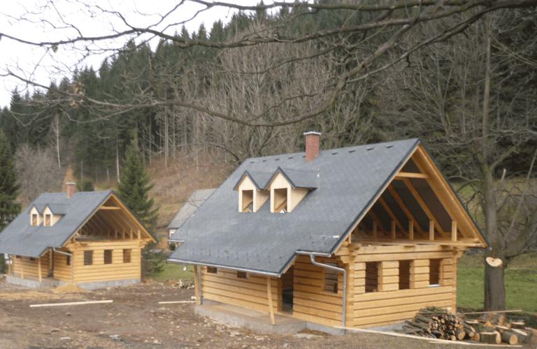 Dřevostavby Vinkler roubenky